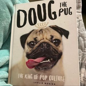 Doug the Pug Hard Cover The King Of Pop book